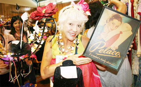 PICTURED at her 'adorable collectables' stall is Di Queen from Byron Bay.