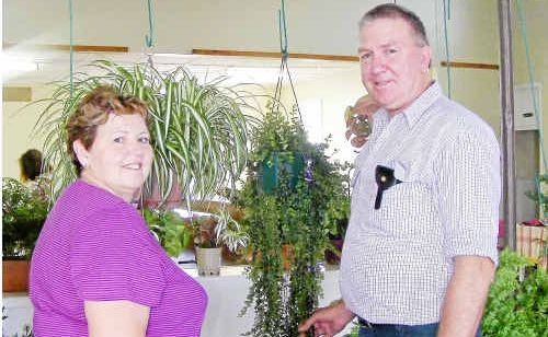 Warwick Horticultural Society committee members Shirley Olive and Mal Hooke know their gardening.