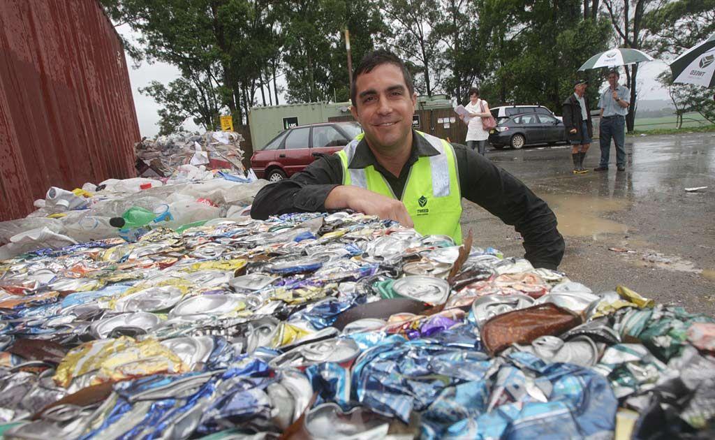 Waste management chief Adam Faulkner.