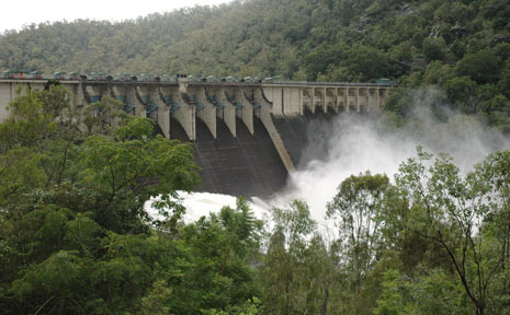 Twenty megalitres of water will be released from Somerset and Wivenhoe dams.