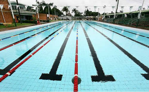The Maryborough Aquatic Centre's 50m pool, which may be replaced by two 25m pools.
