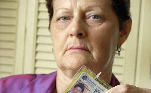 Cheryl Coop from Hervey Bay is seriously thinking about cutting up her licence due to the number of idiots on the road.