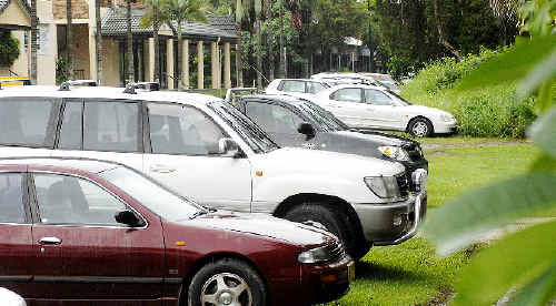 Nose-in parking in Byron Bay's main streets begins next week. It is hoped the switch will improve traffic flow.