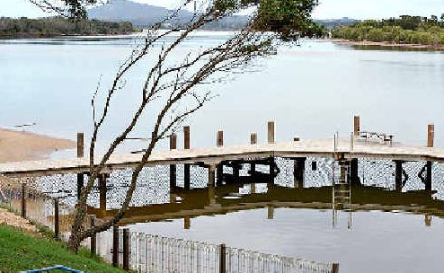 TRAGIC: The Mylestom tidal pool where a toddler drowned.