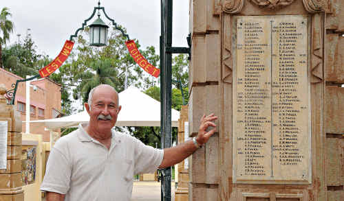 Gympie RSL Sub Branch president Ivan Friske says descendants of veterans are welcome in Gympie's Anzac Day march.