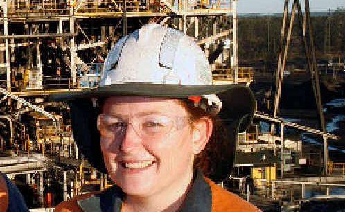 BMA Norwich Park coal mine manager Jennifer Mackenzie.