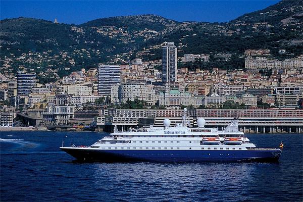 The luxury yacht, Sea Dream.