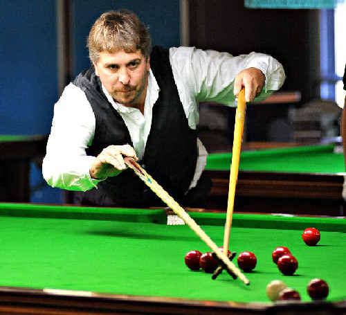 Greg Schalk won the Bill Ellis Snooker Open.