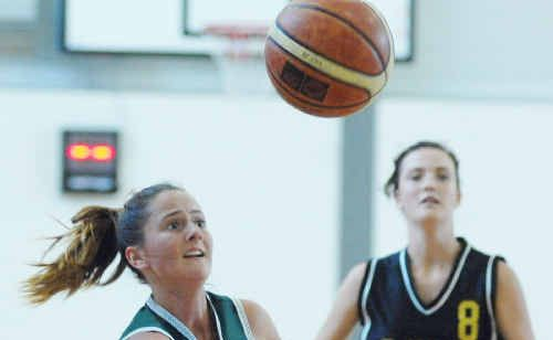 Lismore and Maclean High at the North Coast Regional high schools basketball trials.