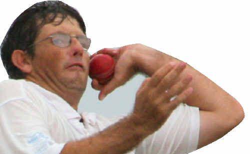 Westlawn bowler John Blanch.