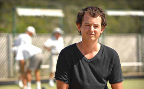 Liam Fluyters will go under the clippers tomorrow night at the Yamba Bowling Club.