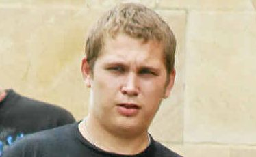 Shane Luke Townsend outside the Warwick Magistrates Court on Tuesday.