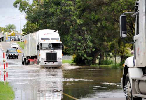 SIGNED: Some residents are calling for better placement of signs during floods.