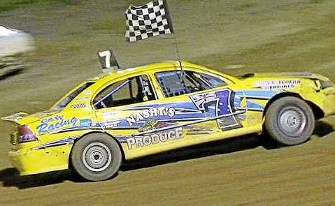 UNFINISHED BUSINESS: Gympie modified production driver Todd Doyle hopes to win back his crown as national champion in Tasmania this weekend after his tilt last year was thwarted by a blown gear box. Doyle is joined by Glen Pagel and Aiden Raymont in contesting the event.