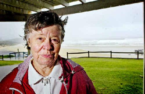 CLOSE CALL: Joyce Gilroy spent a night at Lismore Base Hospital after being bitten by an unidentified snake while walking along Ballina's popular Shelley Beach. Jay Cronan