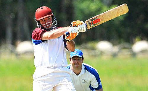 WE'LL TAKE IT: Diggers' captain Steve Meakins will be happy for little or no play this weekend.