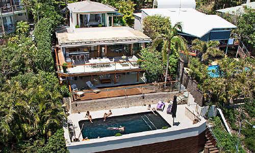 Byron's Villa Gabrielle has a price tage of $12 million.