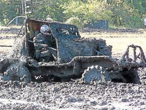 Mud everywhere but racers love the thrill in Sarina