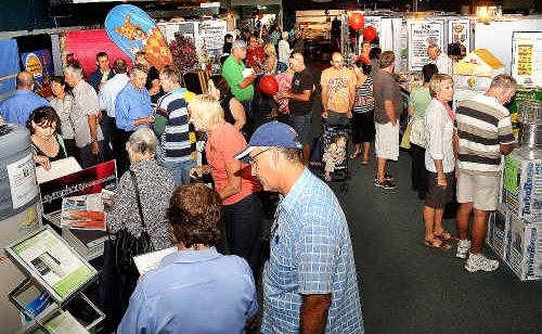 Coffs Coast residents made their way to the Coffs Harbour Racing Club over the weekend for the Home Show.