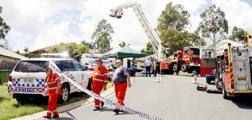 Police closed a residential Springfield street after a suspected drug laboratory exploded on Friday night.