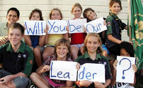 Woolgoolga Scouts are looking for a new leader and the hunt is on for a new one.
