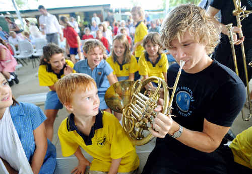 The last performance by the Australian Youth Orchestra while in town will be at the Cavanbah Hall this Saturday night.