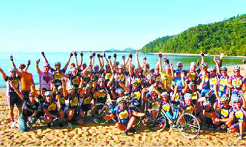 A special film screening will be held at Sawtell First Avenue Cinemas later this month by local Tour de Cure participant Sinclair Black to raise funds for the fight against cancer. SUBMITTED