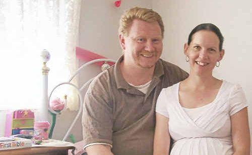 Foster parents Brian and Amanda Nothdurft.