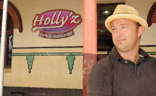 James Hodgson, of Hollyz Cafe, talks about council's new dining policy.