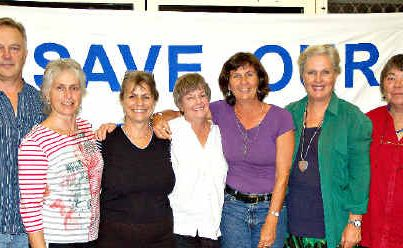 NEW COMMITTEE: The committee of the newly Incorporated Bellinger Health Action Group (from left) David Lester (treasurer), Maratana Hope, Gai Stern (secretary), Pauline Murphy, Pia Dollmann (chair), Solveig Larsen and Barbara Moore (deputy chair).