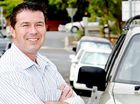 Councillor Andrew Antoniolli at Ginn Street, where more parking bays have been released.