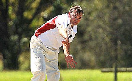 HEAT IS ON: Colts' Daryl Parmenter can be dangerous with the bat or ball.