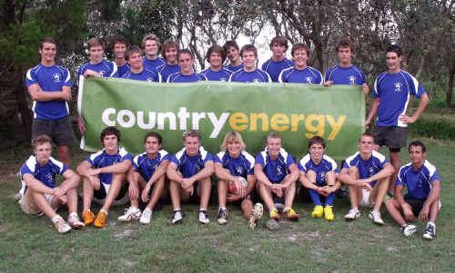 The Far North Coast Junior Rugby Union under-16 representative squad.