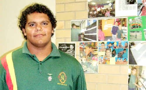 Jimmarl Williams, of Woodenbong Central School, heading to Canberra for the National Schools Constitutional Convention.