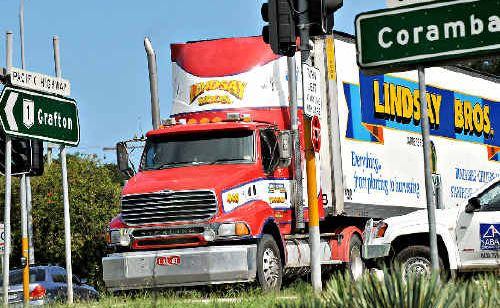 Trucks travelling through the centre of Coffs are going to drastically increase.