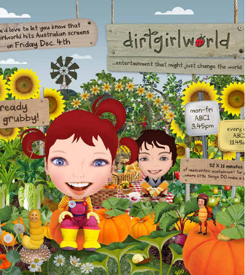 Dirtgirlworld, created by Whiporie locals Cate McQuillen and Hewey Eustace, took out the first-ever GRASS Award, presented at the prestigious Australian Directors Guild Awards in Sydney last Thursday.