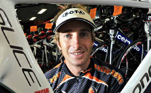 Adam Fitzakerley is confident of performing well in the open elite race at the Mooloolaba Triathlon Festival this weekend.