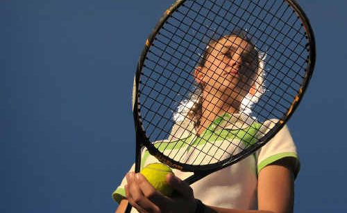 Brittany Huxley has enjoyed even more success on the tennis court, this time in Penrith.