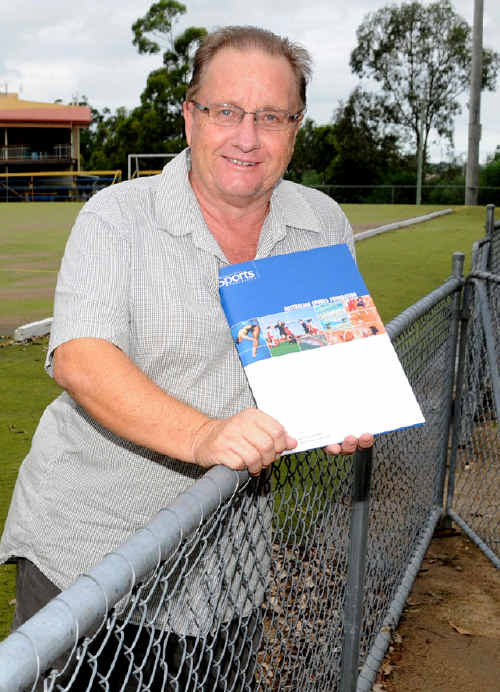 Gympie Hockey President Ian Wenzel is fundraising for a new state of the art hockey field.