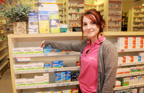 School leaver Brooke Pagel is working locally, before heading to university next year.