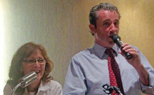 Janelle Saffin and Kevin Hogan