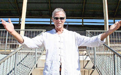 Sonic Festival promoter Malcolm Fine at the Lismore Showgrounds.