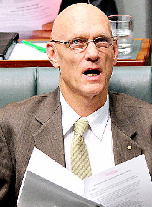 ASSURANCE: Peter Garrett is aiming to temper concerns over fishing rights.