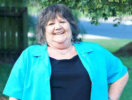 Twin Towns Friends president Doreen Welsh.