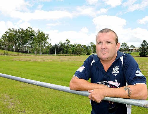 Gympie Cats AFL club coach Jason Kent is hoping for a strong showing at Six Mile today.