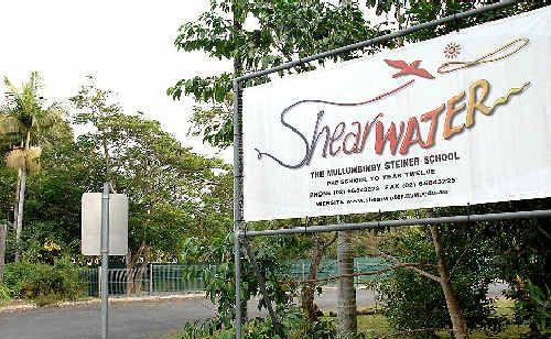 Shearwater Steiner School in Mullumbimby facing financial difficulties.