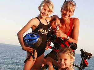 Mum back in triathlon for fun