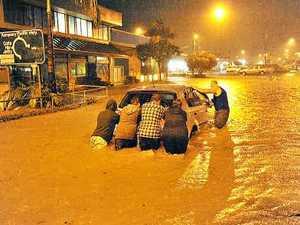 Flood victim 'celebrates' one year