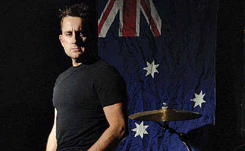 Newsboys' drummer Duncan Phillips.