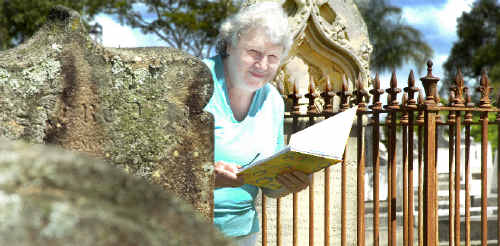 Casino and District Family History Group member Barbara Reynolds, of Casino, enjoys hunting for history and facts. She knows of several forgotten graves around Wiangaree and has traced her own family line back to 1828.